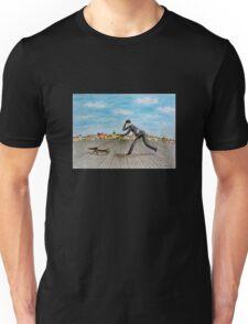 Walk with dog Unisex T-Shirt