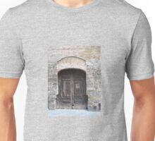 OLD ITALIAN DOOR Unisex T-Shirt