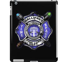 Gallifrey Firehouse iPad Case/Skin