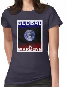 Global warming (TS) Womens Fitted T-Shirt