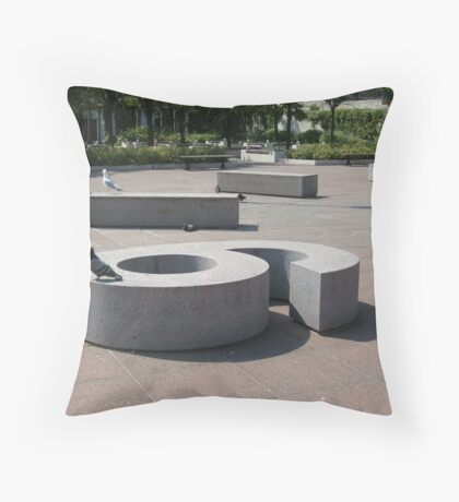 On the 6 Throw Pillow