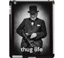 Badass Churchill iPad Case/Skin