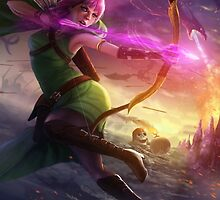 Archer Clash of Clans Art by SXArtist