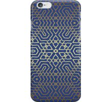 Blue and Gold iPhone Case/Skin