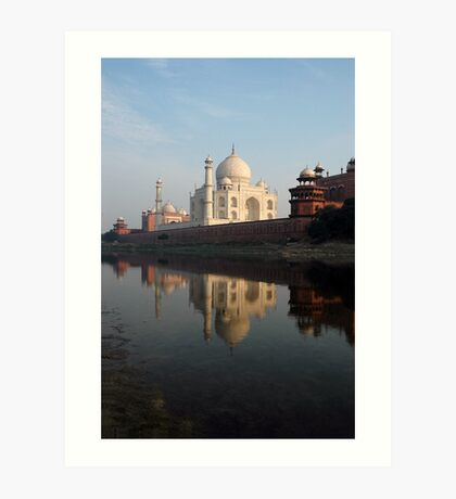 Taj Mahal, India Art Print