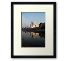 Taj Mahal, India Framed Print