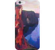 Cliffs of Moher in County Clare Ireland at Sunset  iPhone Case/Skin