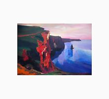 Cliffs of Moher in County Clare Ireland at Sunset  Unisex T-Shirt