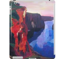 Cliffs of Moher in County Clare Ireland at Sunset  iPad Case/Skin