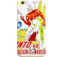 Santo vs. The Invasion of the Martians! '67 iPhone Case/Skin