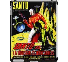 Santo vs. The Invasion of the Martians! '67 iPad Case/Skin