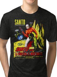 Santo vs. The Invasion of the Martians! '67 Tri-blend T-Shirt