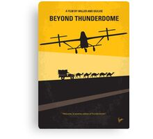 No051 My Mad Max 3 Beyond Thunderdome minimal movie poster Canvas Print