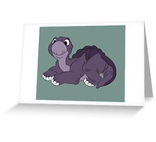 Baby Little Foot Greeting Card