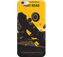 No051 My Mad Max 4 Fury Road minimal movie poster iPhone Case/Skin
