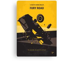 No051 My Mad Max 4 Fury Road minimal movie poster Canvas Print