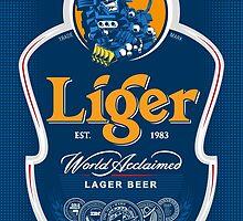 Liger Beer by th2artworks