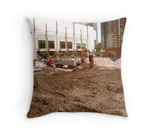 At the clearing Throw Pillow