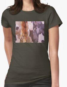 Bark Macro # 2 Womens Fitted T-Shirt