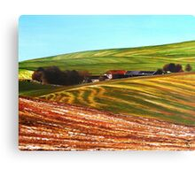 Valley Barn Canvas Print