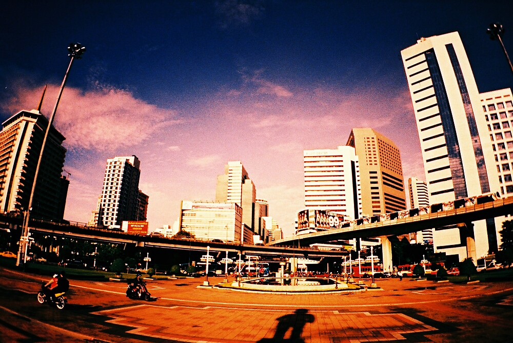 Bangkok City by dylanlim