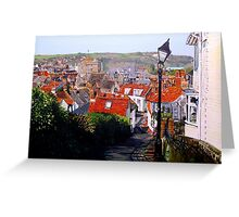 Chapel Hill Rooftops Greeting Card