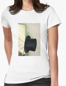 Fred's Hat, Gingerly Womens Fitted T-Shirt