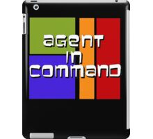 I am Agent in Command  iPad Case/Skin