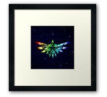 Zelda - Triforce full color Framed Print