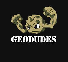 Geodude (white text) Unisex T-Shirt