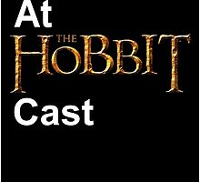 Cackles at the Hobbit Cast (black card) by cynthiaelizabet