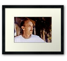 David C - Looking Out 1 - Colour Framed Print