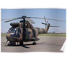 Sud Aviation Aerospatiale SA-330H Puma Helicopter Poster