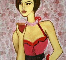 cosmopolitan girl by Petra Pinn