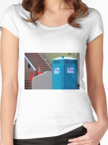 This Tardis Crap Women's Fitted Scoop T-Shirt