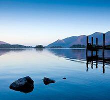 Derwent Water at Sunrise by JohnHall936