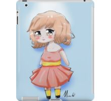 Cute Chibi Girl 2 iPad Case/Skin