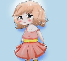 Cute Chibi Girl 2 by MissNo