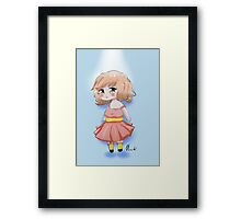Cute Chibi Girl 2 Framed Print