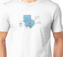 Singapore MRT Map Unisex T-Shirt