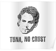 Tuna No Crust Poster