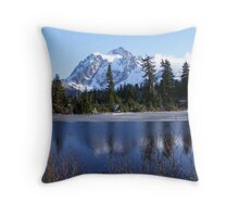 Mount Shuksan Throw Pillow