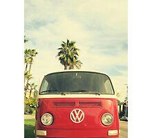 VW Coastin' Photographic Print