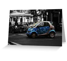 Smart Car Greeting Card