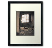 Quiet rooms Framed Print