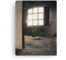 Quiet rooms Canvas Print