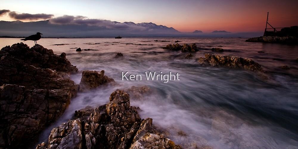 Last rush before dusk by Ken Wright