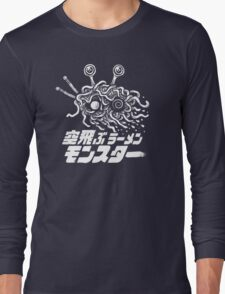 The Flying Ramen Monster Long Sleeve T-Shirt