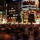 Shibuya at Speed by fenjay