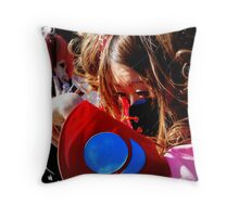 Cosplay Sunday Play 3 Throw Pillow